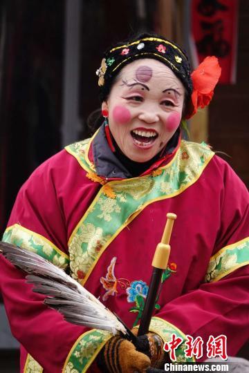 """2019年春节期间,山西省依托各大景区及各类公共文化场所,推出了以""""找年味,来山西""""为主题的十大年俗文化特色系列活动。山西省文化和旅游厅供图"""