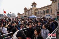 春运过半程京津冀铁路发送旅客达1800多万人 预计今日旅客发送量82万人