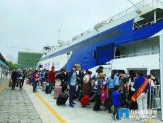 今年春节期间北海市水路运输旅客16万人次 较去年春节增长4.8%