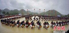 2019南丹·荔波白裤瑶年街节活动开幕 将持续到2月19日