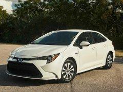 丰田全新卡罗拉混动版预计7-8月正式上市 最大功率可达90kW
