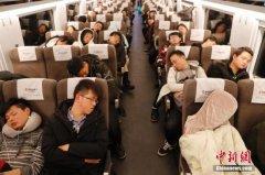 2月22日全国铁路预计发送旅客1180万人次 加开旅客列车894列