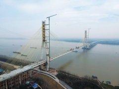 池州长江大桥预计3月底合龙 大桥长5.818千米