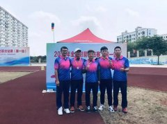 内蒙古射箭队夺得全国射箭分站赛男子团体银牌