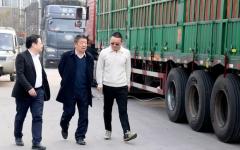 热烈欢迎北京恒通科技董事长孙志强一行来远发股份参观考察