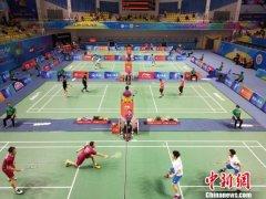 中国(陵水)国际羽毛球大师赛挥拍开打 中国队17人抢得正赛名额