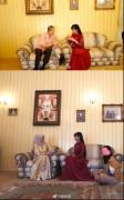 李子柒助力文化出海,文房四宝赠大马王室