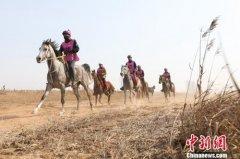 2019中国安平国际马联(FEI)耐力达标赛在衡水市安平县滹沱河畔举行
