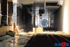 厦门地铁3号线、4号线翔安段主体工程将于今年年底完工