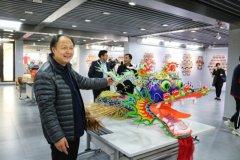 南通市风筝精品展开幕 展览70多件风筝作品