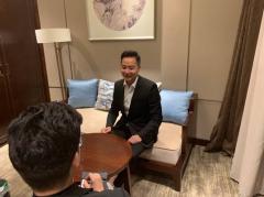 曼瑜天雅董事长谢杭峰 百村扶贫计划专访