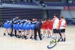 2019年全国青年女子手球锦标赛在青海体育中心综合馆开球