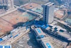 厦门后溪长途汽车站主站房完成90度旋转 总重量超过3万吨