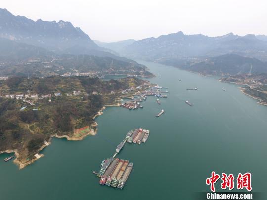 长江三峡通航综合服务区全景 林海 摄
