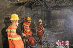 玉渡山隧道项目建设进入最后冲刺阶段