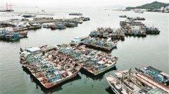 潮州市饶平县426艘渔船已全部回港 正式进入休渔状态