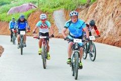 首届海峡两岸山地自行车爬坡挑战赛在霞浦县三沙镇举行