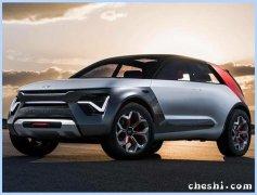 现代纯电SUV曝光 车身轴距达2830mm