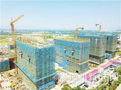 漳州一中高中部已有16栋主体楼封顶 预计年底前基本完工