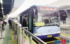 厦门BRT快9高峰线昨日首开 途径8个站点