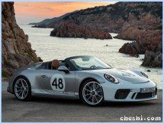 保时捷新款911实车街拍 海外售价约为184万元