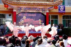 山西省榆次马志宏及副区长张群参加榆次首届戏剧节