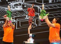 晋江市2019年文化旅游节开幕 掌中木偶机器人首秀