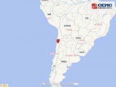 6月6日0时19分智利发生5.5级地震