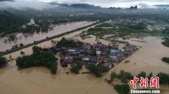 漓江桂林水文站出现147.66米洪峰水位 超警戒水位1.66米