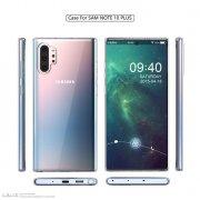 三星Galaxy Note 10 Pro带壳渲染图曝光 取消专用Bixby按键
