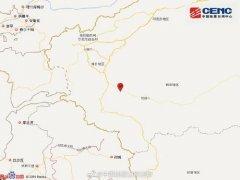 6月11日5时18分新疆和田地区皮山县发生3.1级地震