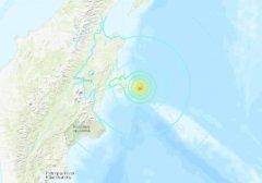 北京时间6月26日10时18分俄罗斯勘察加东部沿岸海域发生6.4级地震