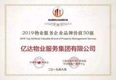 亿达中国旗下服务集团荣获三项物业品牌大奖
