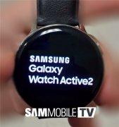三星Galaxy Watch Active2真机图曝光 将能够支持打电话