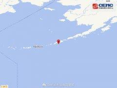7月10日2时43分福克斯群岛发生5.3级地震
