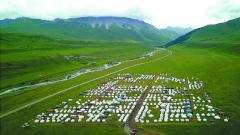 新疆和静县巩乃斯镇蒙古包风情园正式对游客开放