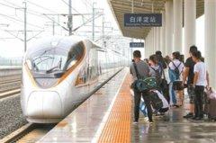 天津开通直达香港高铁列车 运行仅需10小时左右
