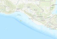 北京时间7月12日9时34分危地马拉西部海域发生5.2级地震