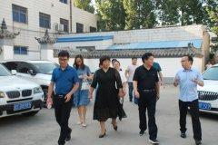 河南淇县市场监督管理局检查组莅临河南誉美肾病医院检查指导工作