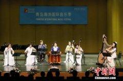 国乐大师音乐会在博兰斯勒(青岛)大剧院成功举办
