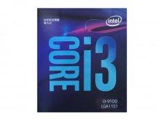 英特尔i3-9100上架:4核心4线程 主频3.6GHz
