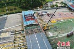 沪昆高速赣浙省界梨园收费站开拆 全部工程预计年底完工