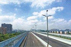 武汉机场路主线高架今日通车 全长3.6公里