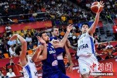 2019籃球世界杯首場1/4決賽在東莞展開 阿根廷隊擊敗塞爾維亞隊