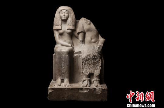 大理石雕像《巴基特?穆特,女吟唱者阿蒙》 主办方供图