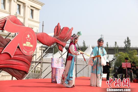 2019园博音乐会10月3日至7日在北京园博园举办,携手中国戏曲文化周为游园群众带来丰富的节日文化大餐。主办方供图