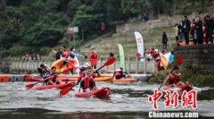 国际划骑跑铁三将在重庆荣昌开赛 比赛分为四个组别