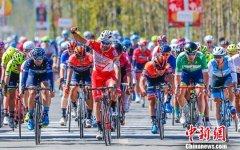 2019环太湖国际公路自行车赛收官 澳大利亚圣乔治车队肯内特夺冠