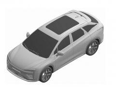 广汽蔚来首款SUV曝光 竞争比亚迪唐EV等同级别车型