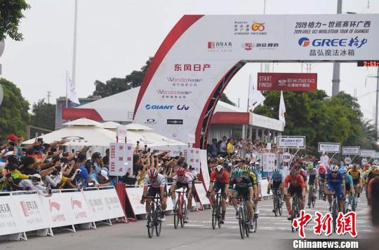 環廣西公路自行車世界巡回賽17日